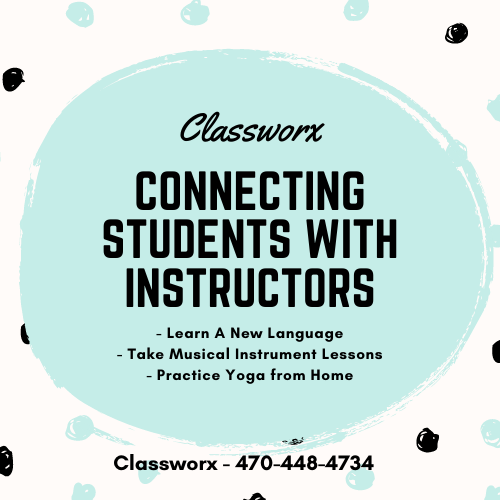 Virtual Instructor Directory Classworx Connects Instructors with Students 470-448-4734