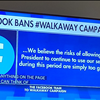 Facebook bans Group Walkway Campaign