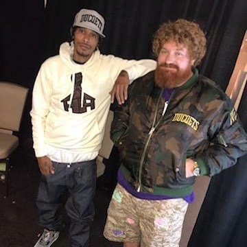 Me and my homie, keep it real dawg - Layzie Bone