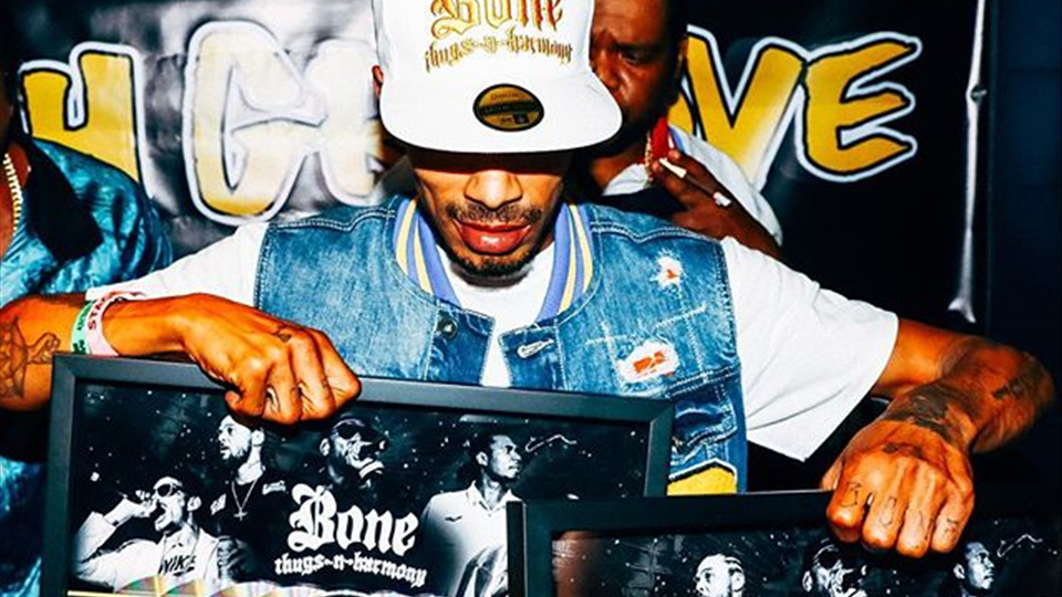 Thanks to Krush Groove, we love everyone single one of y'all - Layzie Bone