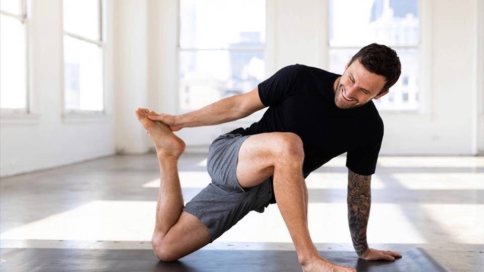 New classes up on Alo Moves, get it! - Calvin Corzine Yoga