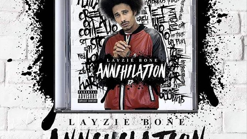 Special Edition of Layzie Bone Annihilation soon available for preorder on Layzie Gear