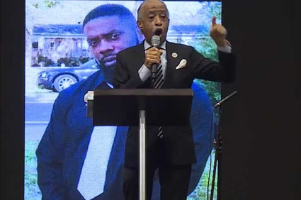 Al Sharpton Demands Release of Video at Andrew Brown Jr.'s Funeral
