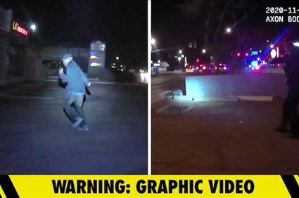 Cops in Arizona Shoot Apparently Suicidal Man After Chase