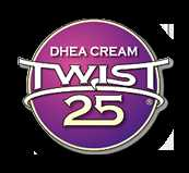 Twist 25 DHEA Cream Bioidentical DHEA Supplement Men And Women